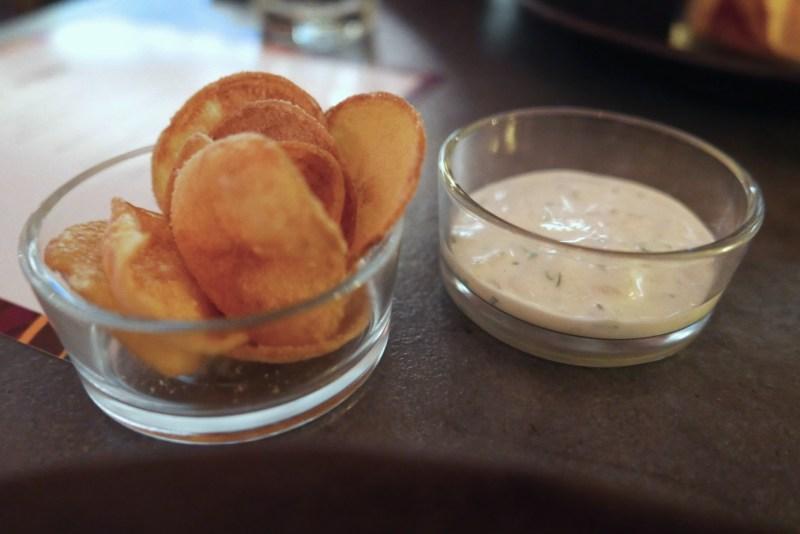 SNACKS Potatoes, vinegar, cod