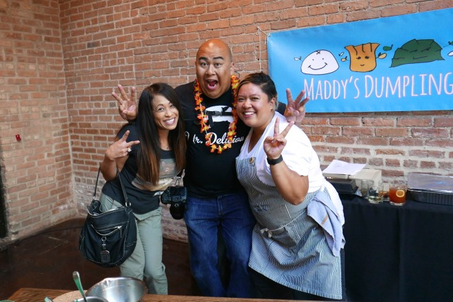 Photographer Huge Galdones and Chef Chrissy Camba of Maddy's Dumplings