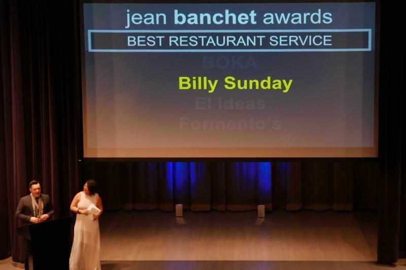 Best Restaurant Service BOKAEl IdeasFormento's WINNER: Billy Sunday