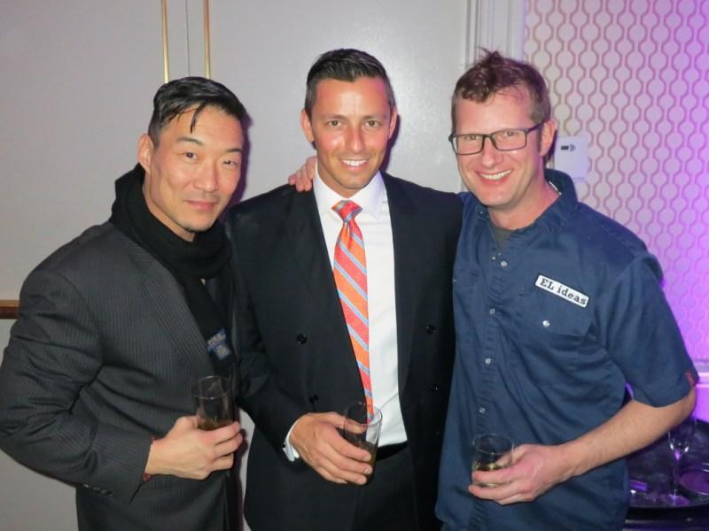 Jason Chan of Juno, Curtis Duffy of Grace, Phillip Foss of El Ideas