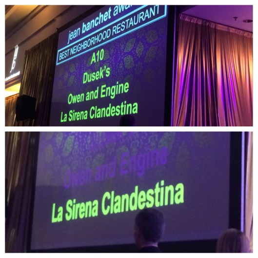 Best Neighborhood Restaurant: La Sirena Clandestina