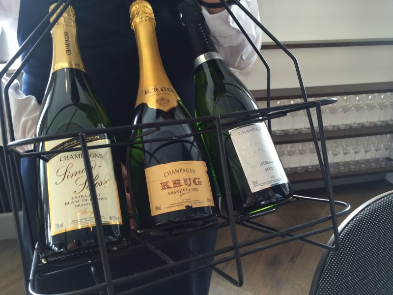 Champagne selections