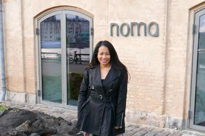 Fresh of the plane and off to dinner at Noma.