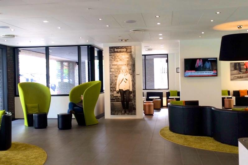 Lobby at Wake Up Hotel Borgergade