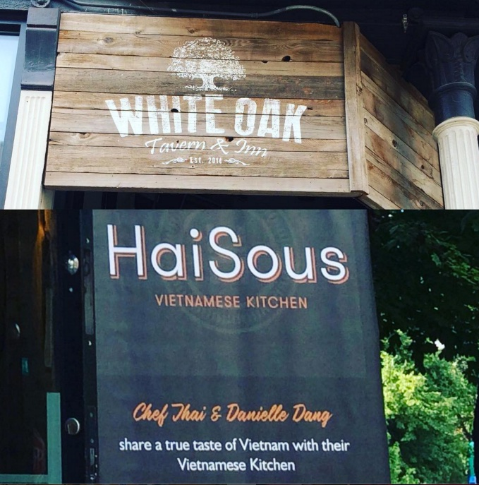 HaiSous takeover at White Oak Tavern & Inn