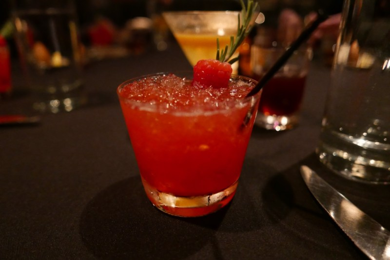 Jack Daniel's Single Barrel Rye, yuzu, raspberry, orange blossom