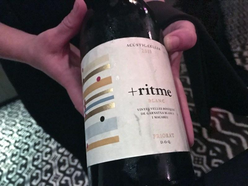 2011 Acustic Celler Ritme Blanc, Priorat DOCa, Spain