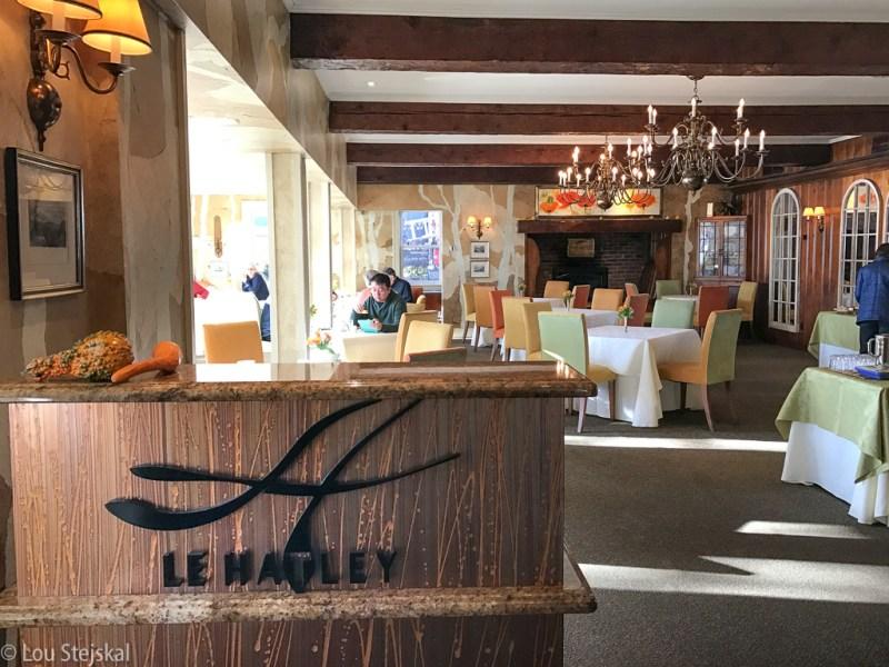 Relais & Chateaux Le Hatley restaurant
