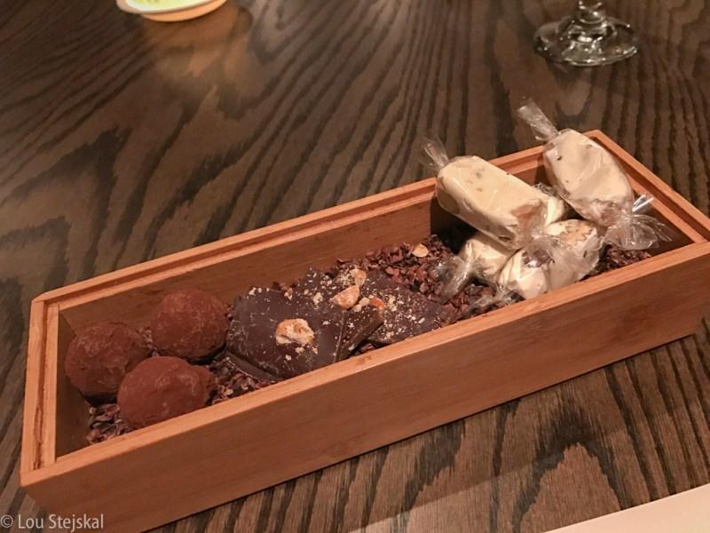 Truffles, Toffee, Nougat (Mignardises)g