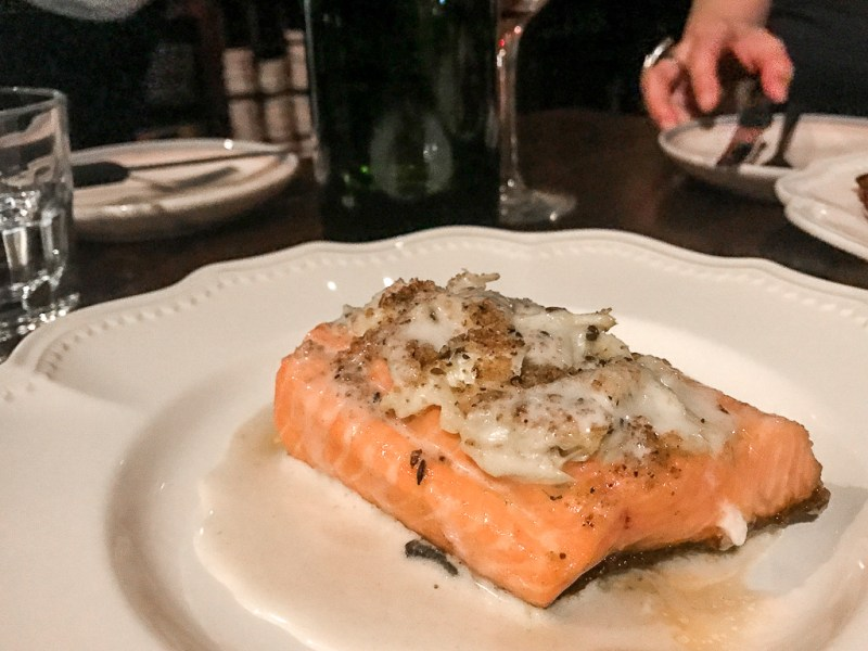 Arctic Char, Crab, Beurre Blanc ($28)
