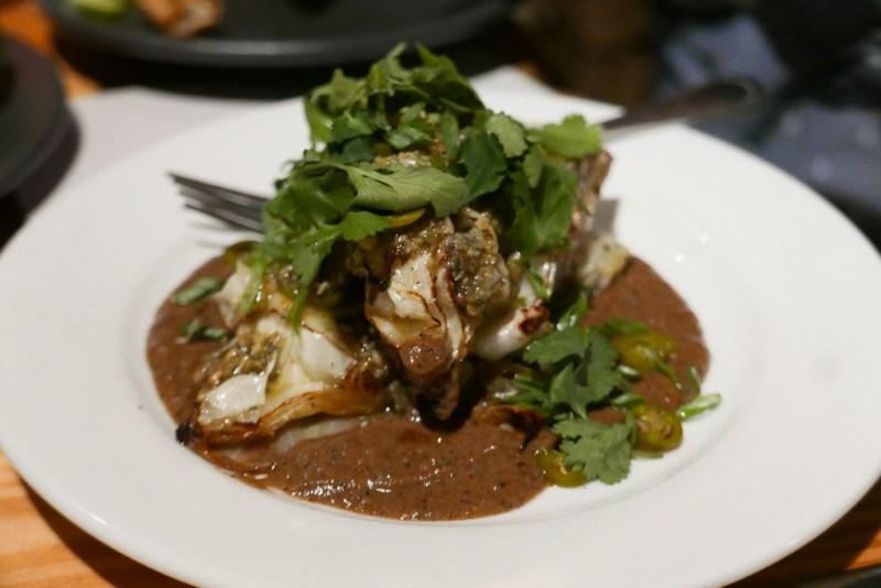 Oven-Roasted Cabbage, Pumpkin Seed, Serrano, Burnt Sourdough ($10)