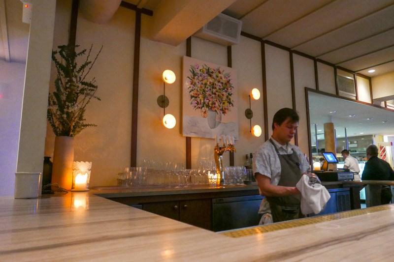 Bar area at Elske