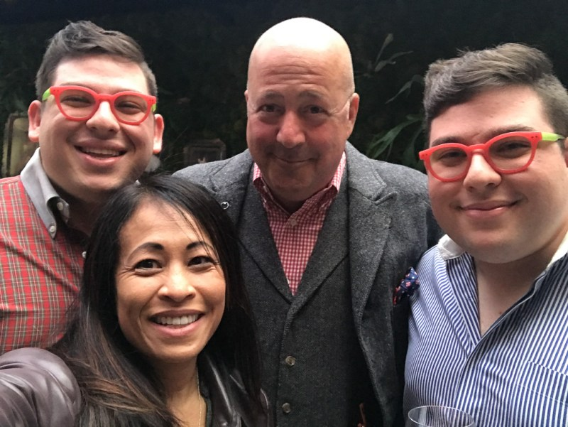 Andrew Zimmern and Potash twins, Adeev and Ezra