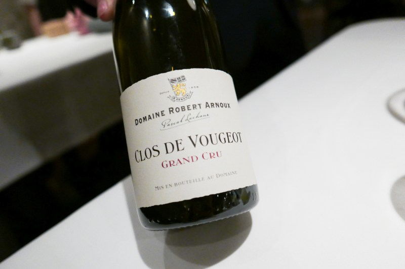 CLOS DE VOUGEOT Grand Cru, Domaine Robert Arnoux, Burgundy, France, 2002