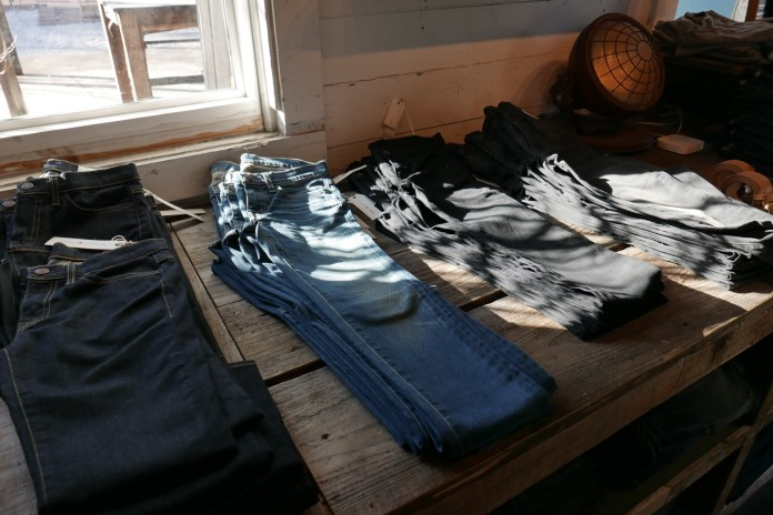 Jeans at imogene + willie averaging $265 a pair