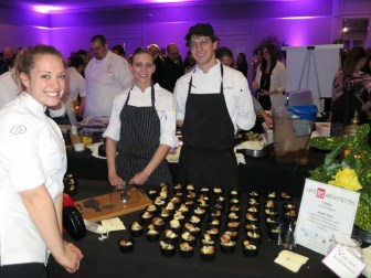 Leigh Omilinsky of Cafe des Architects at Grand Chefs Gala