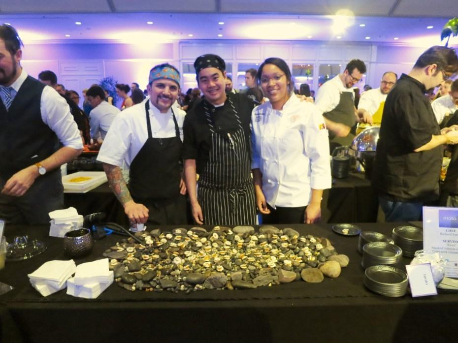 Richie Farina of moto at Grand Chefs Gala