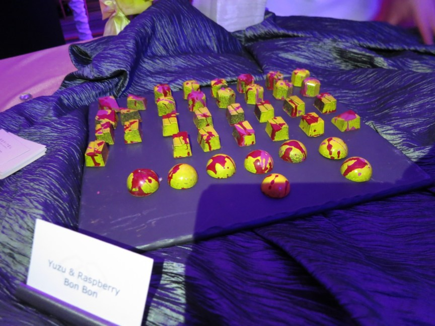 Yuzu and Raspberry Bon Bons by Leigh Omilinsky of Cafe des Architectes