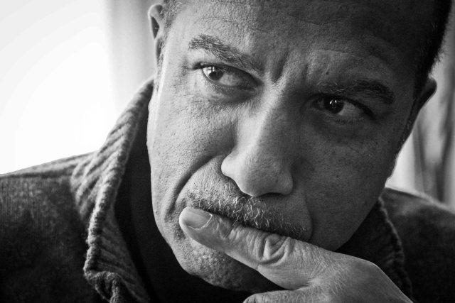 Pascal Légitimus durant son entrevue avec l'Outarde Libérée, le 5 novembre 2015 à Montréal (Rozenn Nicolle)