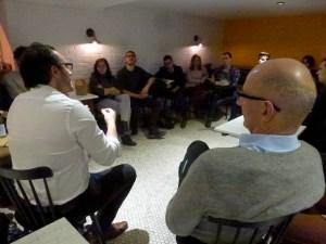 Première réunion d'En Marche! Montréal le 8 novembre dernier