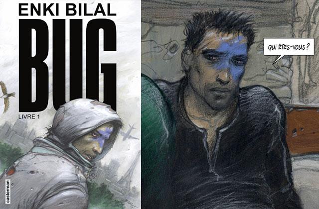 BUG : le roman graphique visionnaire d'Enki Bilal