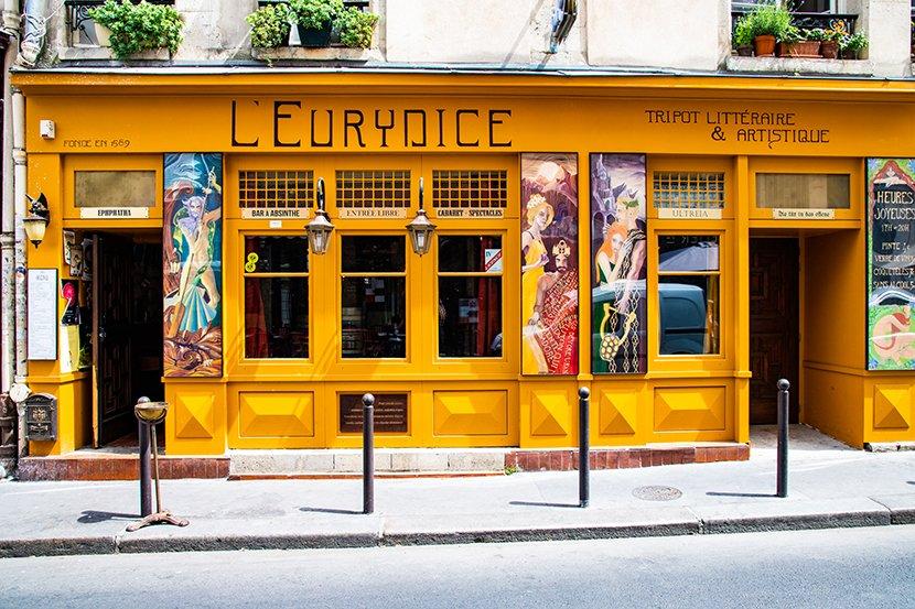 Fabienne Leloup et Jean Hautepierre à L'Eurydice, le mercredi 4 mars à partir de 18 heures.