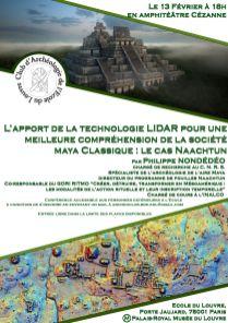 Martin LAGARDE - Affiche Lidar et Maya