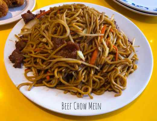 Uncle John's Cafe - The Ultimate American-Chinese Diner: Beef Chow Mein