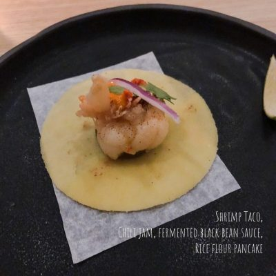Kato: Simply Simple Elevated - Shrimp Taco