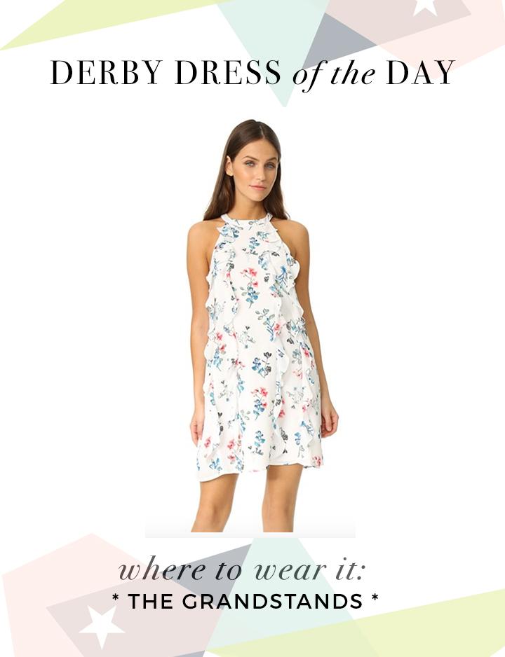Kentucky Derby Dress: For the Grandstands