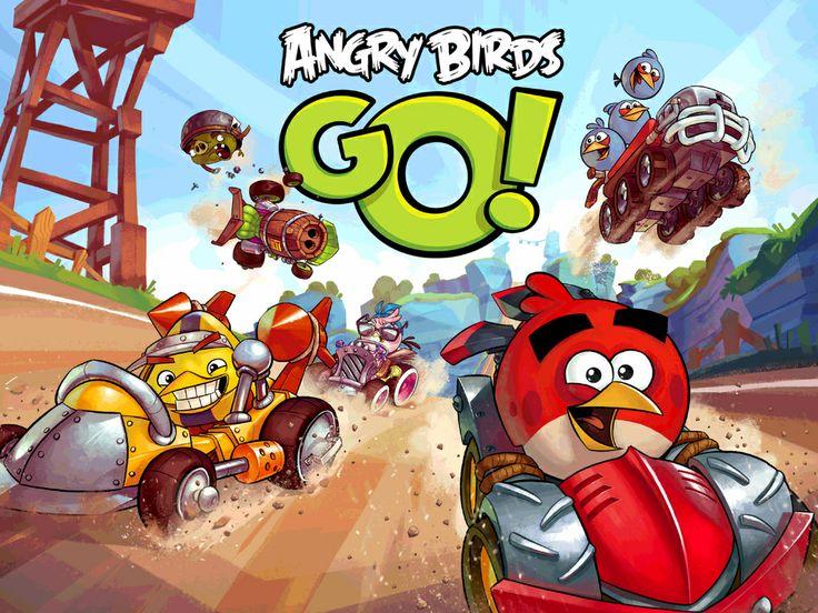 Angry Birds Go : Mario Kart avec des plumes !