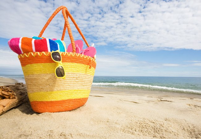 What's in your beach bag: Mom Edition