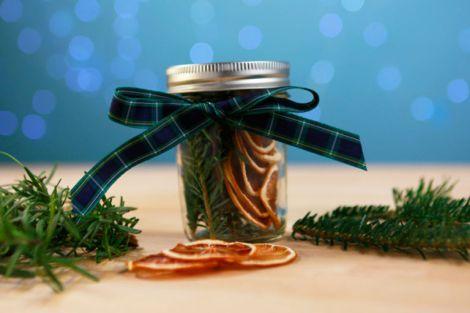 DIY fresh pine scent