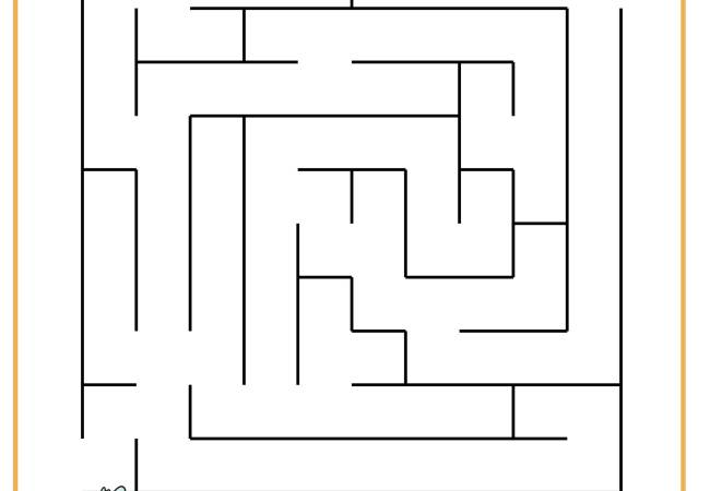 Fun Spring Maze for Children! (Free Printable)