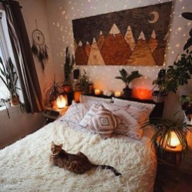 Adorable Bohemian Bedroom Decoration Ideas You Will Totally Love 11