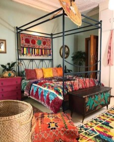 Adorable Bohemian Bedroom Decoration Ideas You Will Totally Love 39