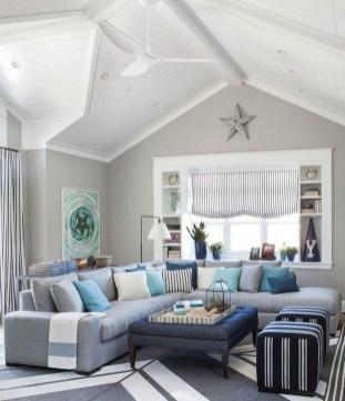 Elegant Coastal Themes For Your Living Room Design 08