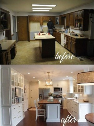 Inspiring Famhouse Kitchen Design Ideas 07