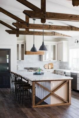 Inspiring Famhouse Kitchen Design Ideas 08