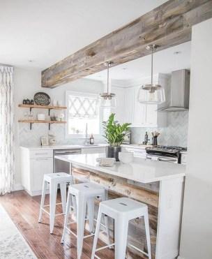 Inspiring Famhouse Kitchen Design Ideas 26