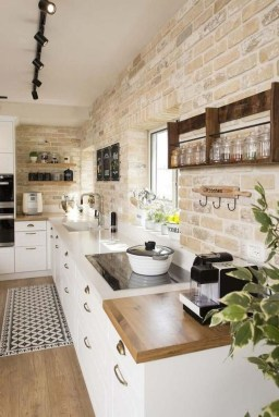 Inspiring Famhouse Kitchen Design Ideas 34