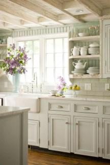 Inspiring Famhouse Kitchen Design Ideas 42