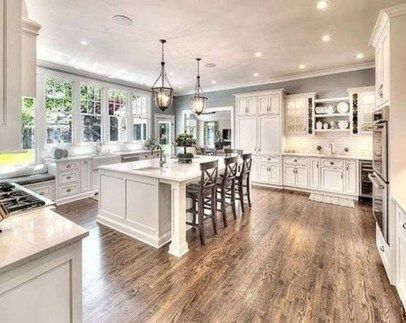 Inspiring Famhouse Kitchen Design Ideas 43