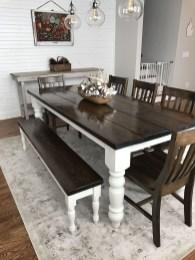 Rustic Farmhouse Dining Room Design Ideas 14