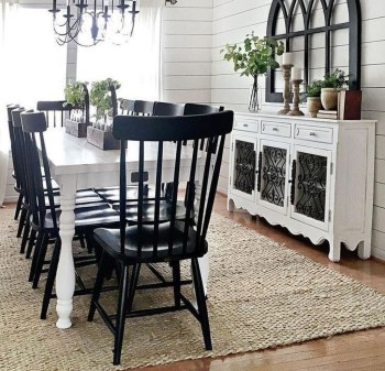 Rustic Farmhouse Dining Room Design Ideas 18