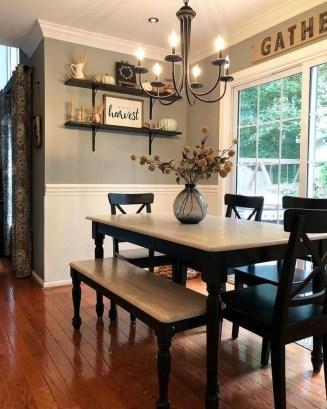 Rustic Farmhouse Dining Room Design Ideas 29