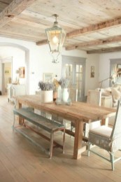 Rustic Farmhouse Dining Room Design Ideas 39