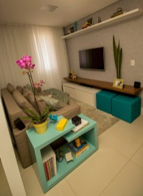 Stunning Small Living Room Design For Small Space 17