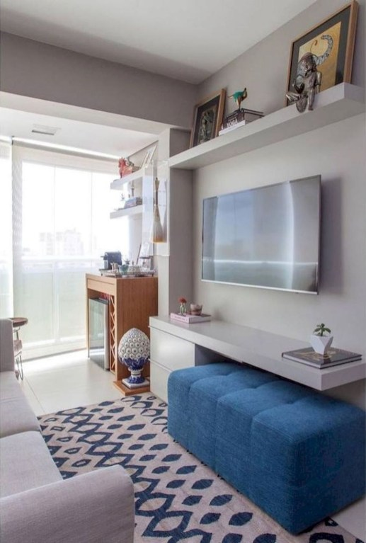 Stunning Small Living Room Design For Small Space 50
