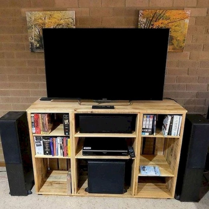 Amazing Wooden TV Stand Ideas You Can Build In A Weekend 01